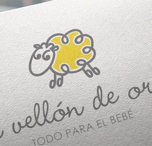 logotipo corporativo tienda puericultura