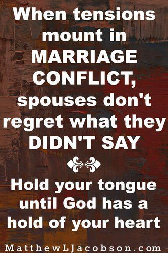 "Arguing in marriage happens because two people (yes, two . . . it's not just your spouse) will not take up their cross daily. Arguing doesn't happen to you. It's a choice. ""Any Couple can Kiss Fighting Goodbye . . . and You should too."" MatthewLJacobson.com"
