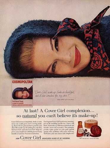 At last! A Cover Girl complexion...so natural you can't believe it's make-up!
