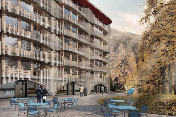 Burkhalter & Sumi, Hotel Laudinella