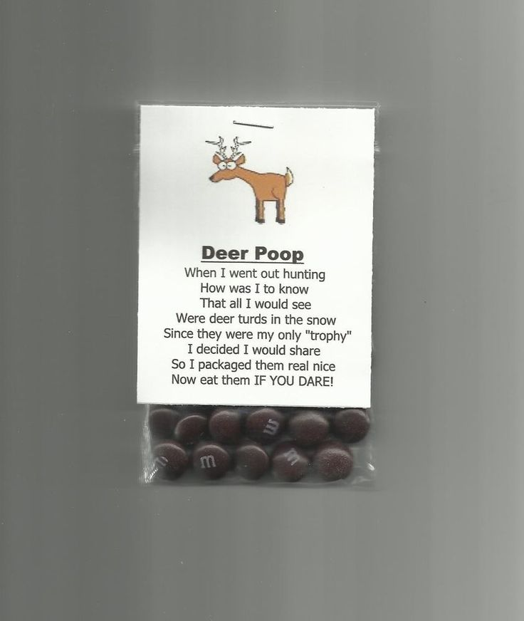 New Homemade Deer Poop Chocolate Candy Novelty Gag Gift Hunting Joke Prank #Homemade