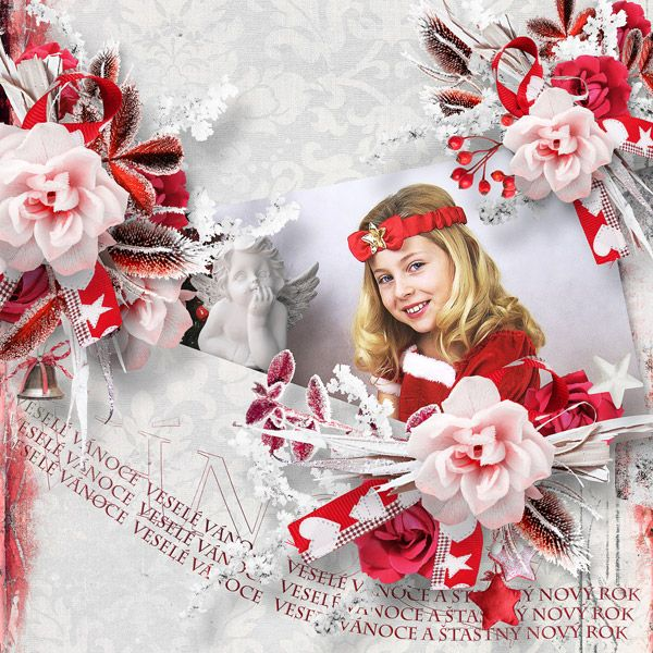 Snow Angel by Ilonka Scrapbook Designs