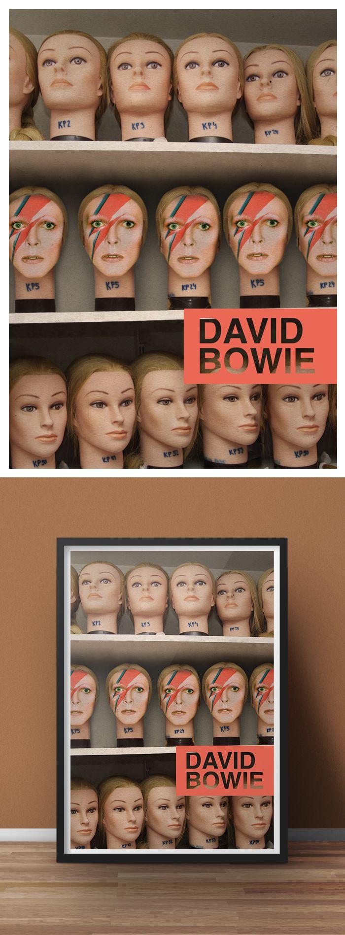 Mais um pra casa! Esse é da Stefanie Mancini. #poster #david #bowie www.s6isdesign.com.br