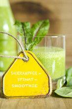 Foto: Spinat Smoothie, Sauerampfer Smoothie