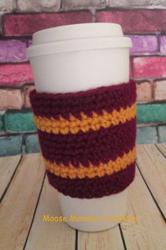 Hand Crocheted Harry Potter Gryffindor by MooseMommaCreations, $8.00