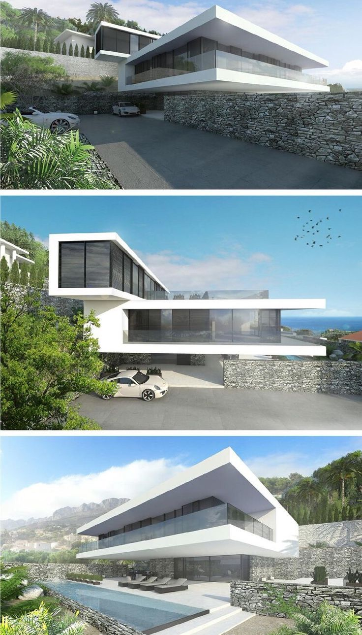 modern 350 beachfront villa in Spain designed