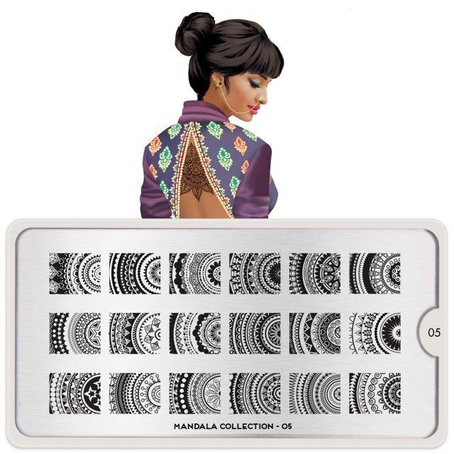 Mandala Nail Art Design 05