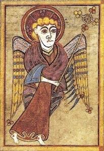 The Book of Kells - Matthew