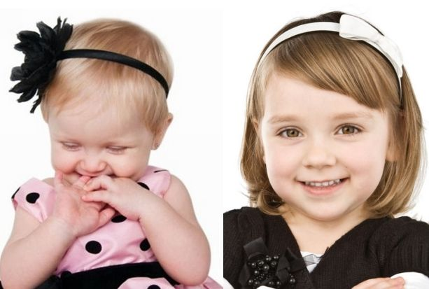Meisjes kapsels met haarband