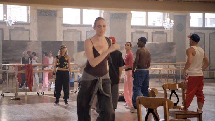 Street Dance Movie, Nichola Burley, Richard Winsor and Charlotte Rampling