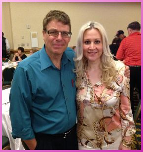 Kelly Cavanaugh and Plexus Slim Co-Developer Dave Brown