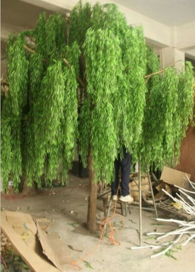 Faux Weeping Willow Tree