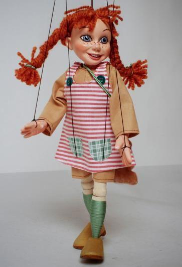 Pipi Longstocking Marionette