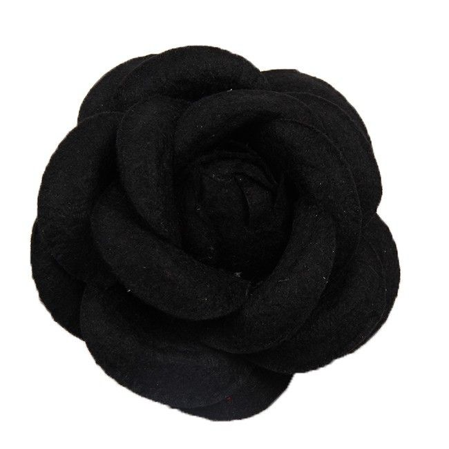 Мода камелии брошь корсаж элегантный ткани небольшой качество большой цветок аксессуары хлопчатник купить на AliExpress