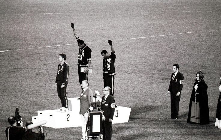 Jeux olympiques de Mexico, 16 octobre 1968, Banque de l'Image