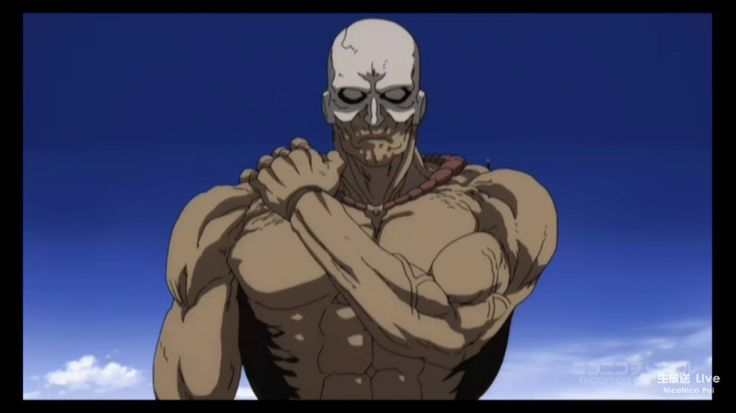 ONE PUNCH MAN, Villain, Marugori (マルゴリ, Marugori) was a regular human until he drank the Biceps Brachii King steroid from his older brother, Oldface, which turned him into a mutated giant, Voice Actor Takuma Suzuki, Episode 1 http://onepunchman.wikia.com/wiki/Marugori
