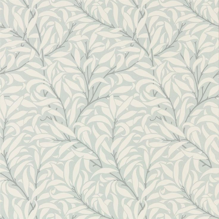 Morris and Co Willow Bough 216024 Eggshell/Chalk wallpaper from the Pure Wallpapers collection, priced per roll. For the Pure Morris wallpaper collection, the original Willow Bough design has been simplified and re-painted using just three colours, bringing a simple sophistication to the interior