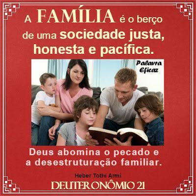 Palavra e Ação : Família e justiça -Deuteronômio  21