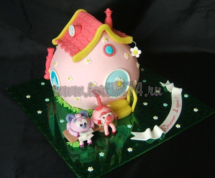 торт смешарики - Google Search
