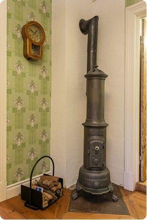 Danish cast iron heating stove
