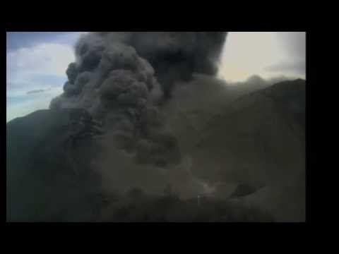 Dramatic eruption of Costa Rica Turrialba volcano