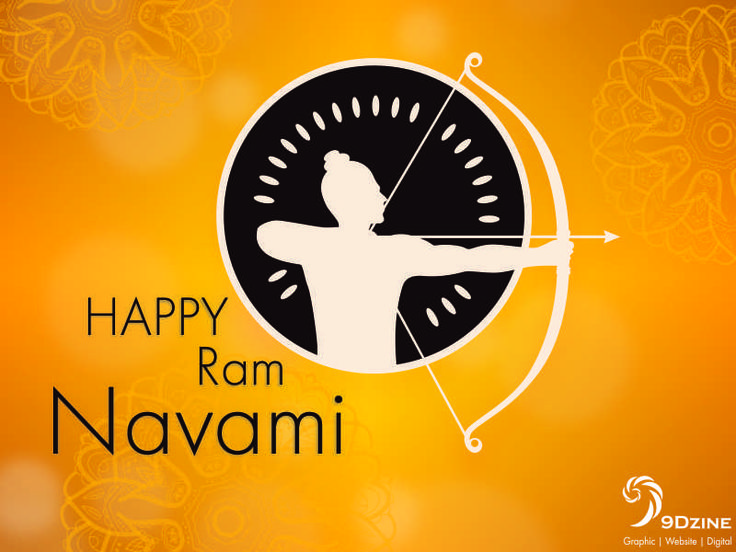 Wishing you all a very Happy Ram Navami!!! @9DZINE   #9dzine #festival #Happy #ram #navami