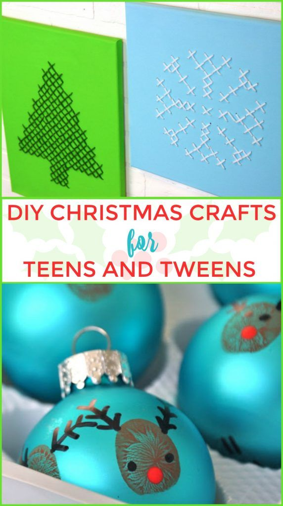 DIY Christmas Crafts For Teens and Tweens