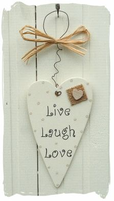 Heart ... Live laugh love