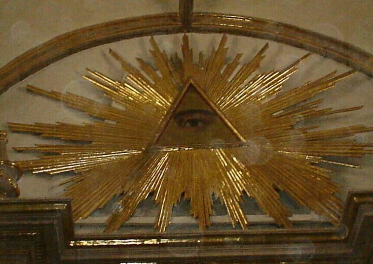 El ojo de Dios! Parroquia de Santo Santiago Apostol Ameca Jalisco Mexico