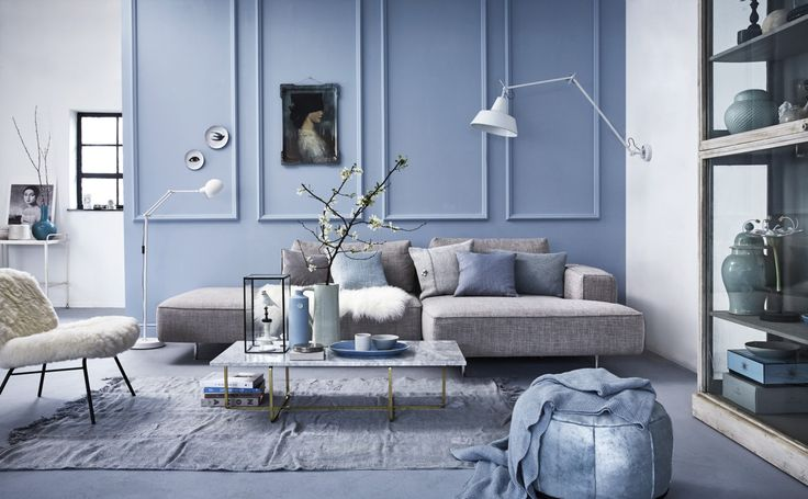 Blue inspiration by VT Wonen