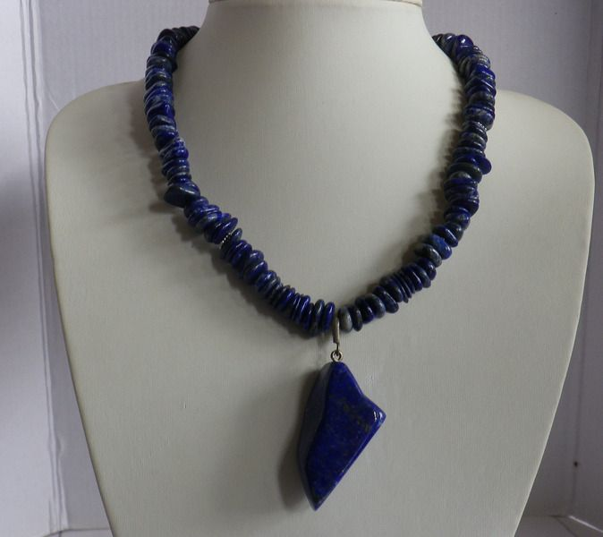 Lapislazuli - Lapislazuli Collier Ituha - ein Designerstück von sibea bei DaWanda