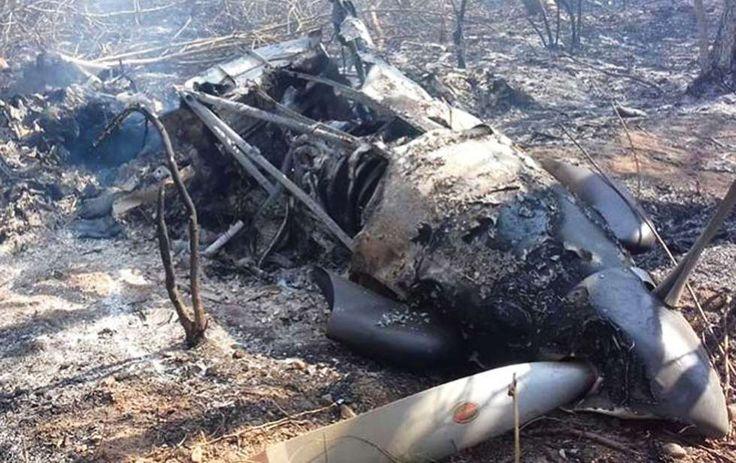 Mueren dos militares tras desplomarse la aeronave en Chiapas - http://www.notimundo.com.mx/portada/desploma-aeronave-fuerza-aerea/