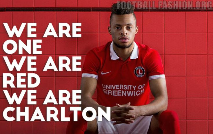Charlton Athletic FC 2015/16 Nike Home Football Kit, Soccer Jersey, Shirt
