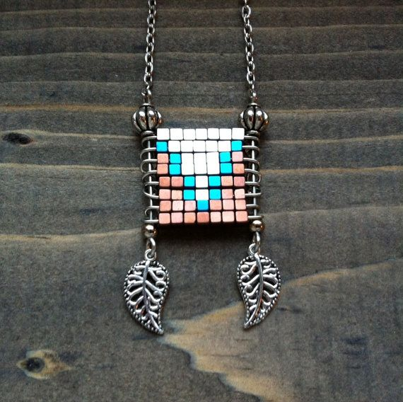 Tribal copper, silver, and blue hematite necklace / by bluetribe / boho chic by bluetribe. Explore more products on http://bluetribe.etsy.com