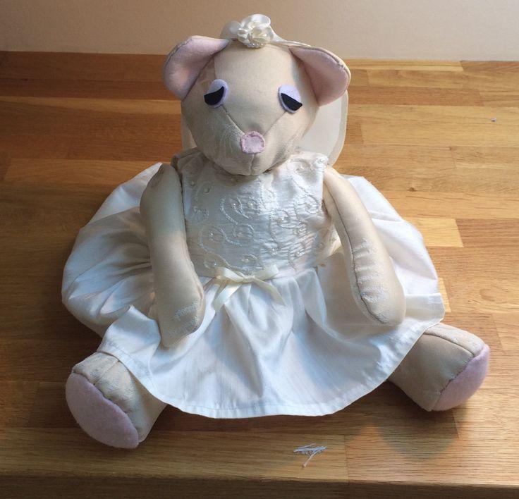 Communion teddy bear