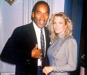 OJ Simpson and Nicole Brown Simpson...Marriage #2 For Simpson...We All Know How This Story Ended...So Sad...