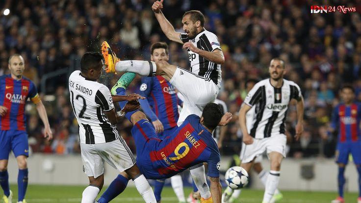 Berita Olahraga : Hasil dan Cuplikan Pertandingan Barcelona 0-0 Juventus (Agregat 0-3)