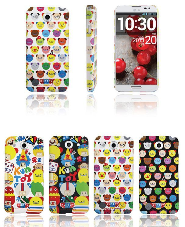 Kuntoy Buster Cube Smartphone Hard Case for Optimus G Pro