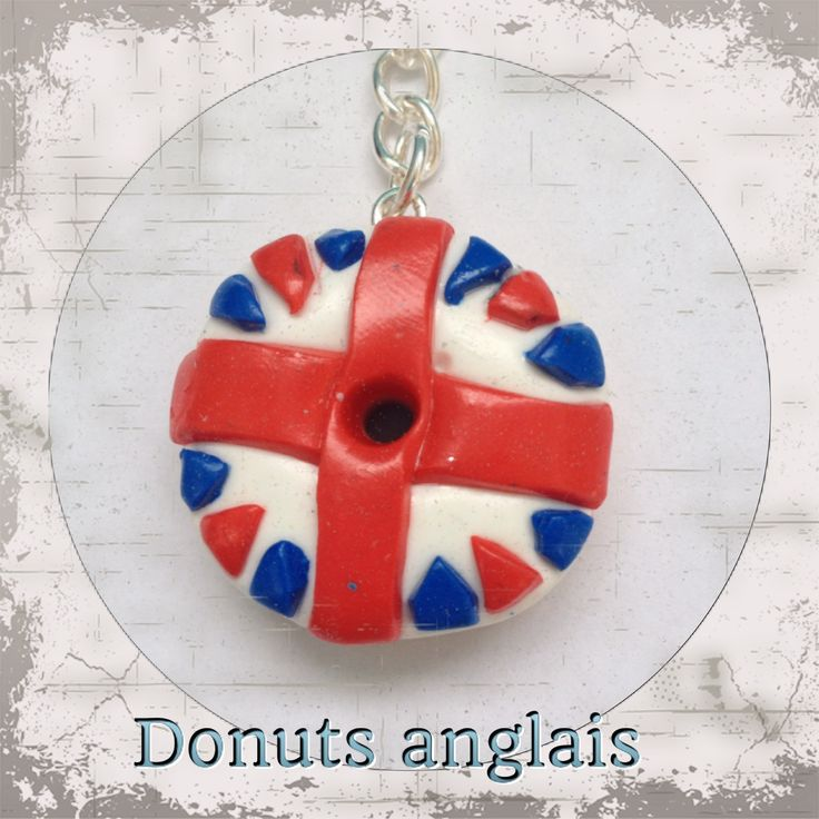 donuts anglais mes cr ations fimo pinterest beignets. Black Bedroom Furniture Sets. Home Design Ideas