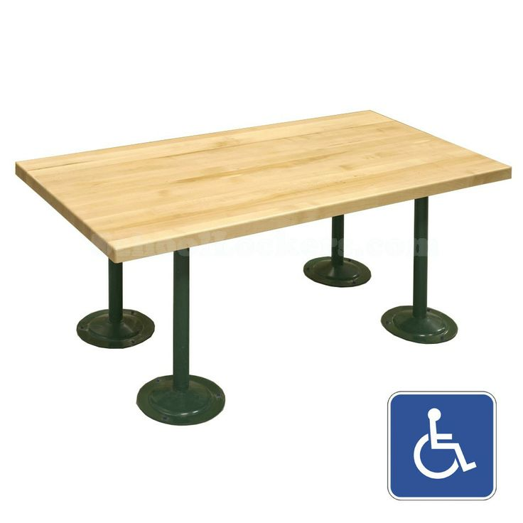 ada locker room benches for in two different sizes and several pedestal