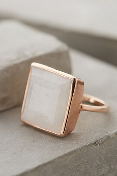 #DearAntrho, I like big rings and I cannot lie. Would love the Royal Mile Moonstone Ring for Christmas. #entry #anthropologie