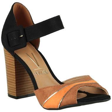 Sandália Vizzano Salto Grosso #Summer #Spring #Love #Shoes #Sandalias #Trend #Fashion