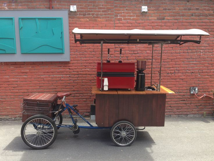 Coffee Cart Mobile Espresso Bike FOR SALE! – Check out this super awesome electric bike that  whips up awesome espresso drinks ANYWHERE and it's for sale on Portland Craigslist!