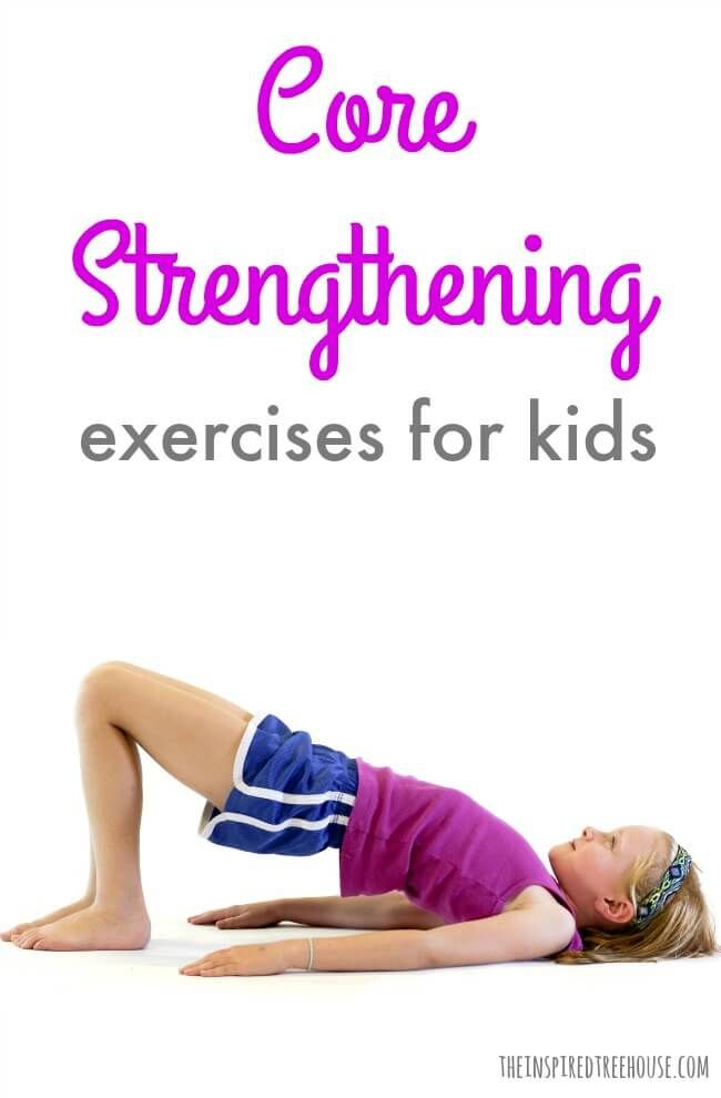 The Inspired Treehouse - Core strengthening is essential for the progression of nearly all other developmental skills. Learn some fun ways to help strengthen kids' core muscles!