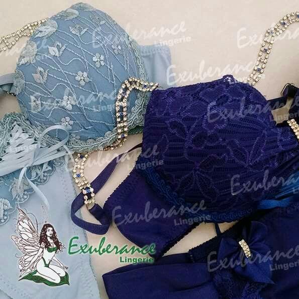 Lingerie AZUL Qual você prefere? #ExuberanceLingerie #lingerie #Azul