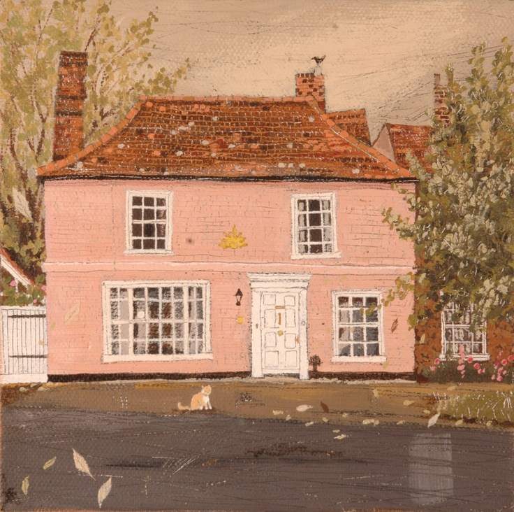 I'd like a similar rendering of my own house!  Sun House - Lucy Grossmith