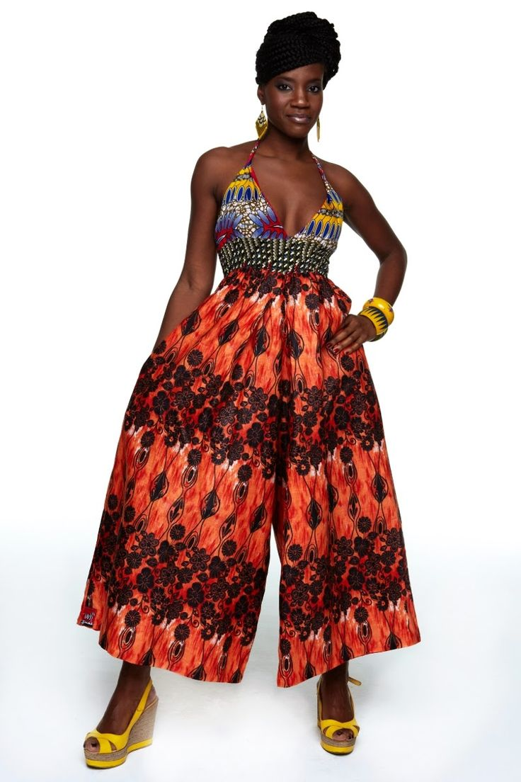 African prints in fashion right now i love jumpsuits rompers