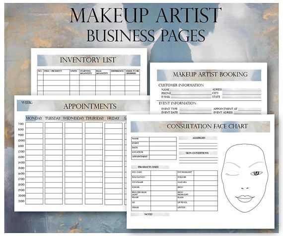 50 Unique Freelance Makeup Artist Contract Template In 2020 With