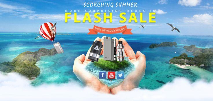 Scorching Summer, Flash Salel from Gearbest