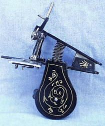 Beckwith Clamp-on Sewing Machine - 1871